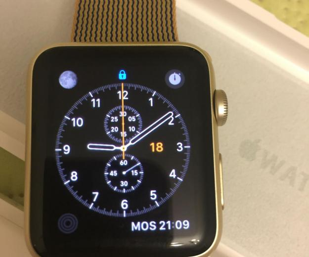 Часы apple watch sport 42 mm. Фото 1.