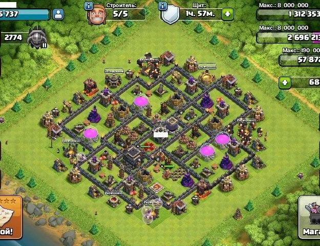 Clash of clans/clash royale android and ios. Фото 4. Йошкар-Ола.