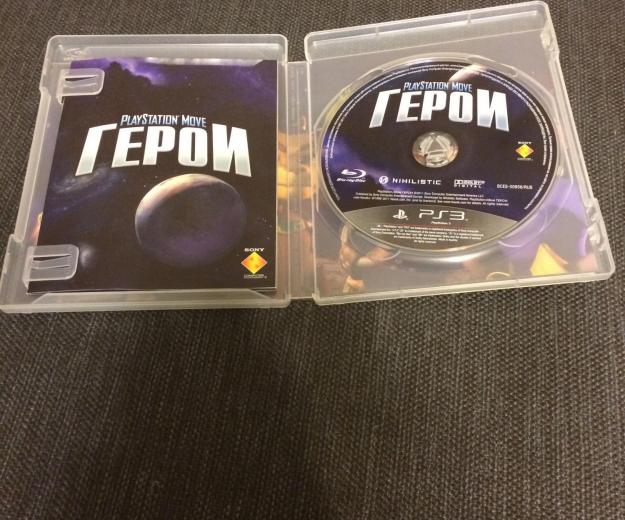 "Диск игры ""герои"" для playstation 3. Фото 2."