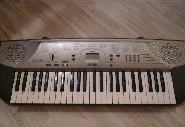 Синтезатор casio ctk-230. Фото 1.