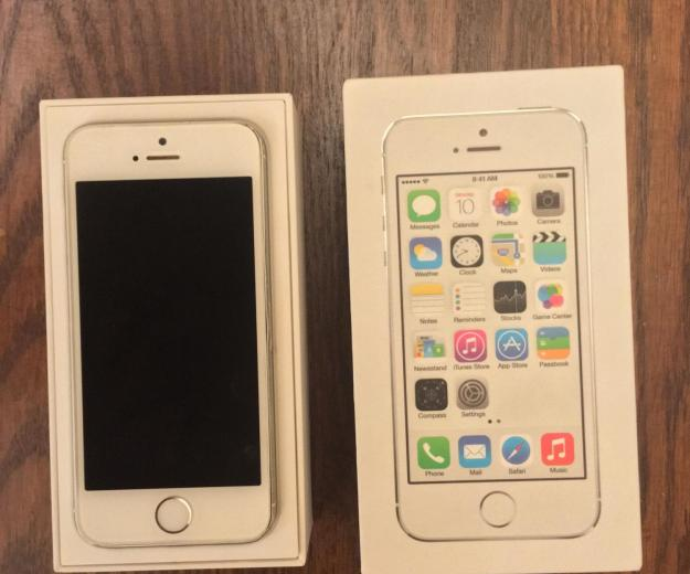 Iphone 5s 16gb silver (рст) - б/у. Фото 2.