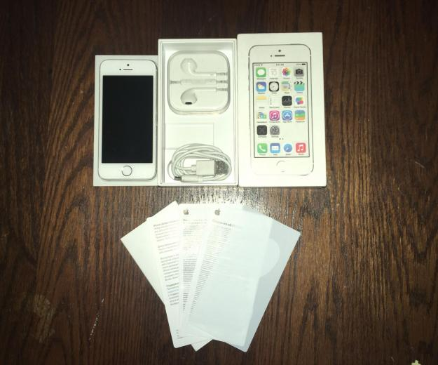 Iphone 5s 16gb silver (рст) - б/у. Фото 3.