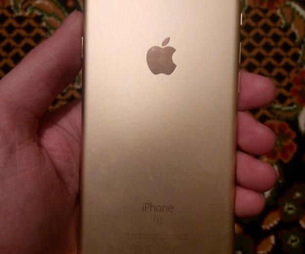 Iphone 6s gold 64 gb. Фото 1.