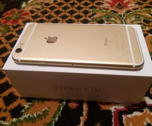 Iphone 6s gold 64 gb. Фото 3.