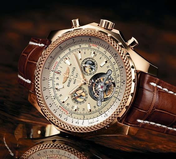 ⌚ часы breitling bentley mulliner tourbillon ☝☭❗ 0324ck1ef. Фото 1. Курган.