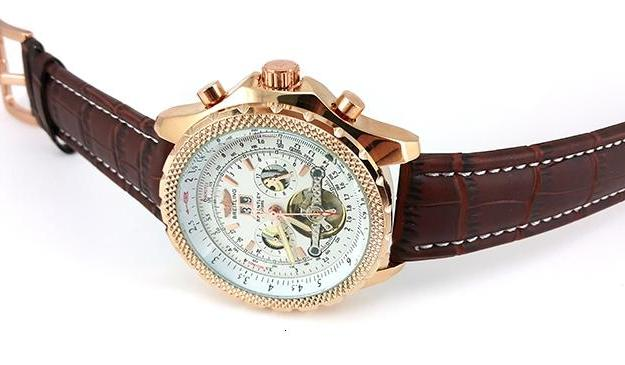 ⌚ часы breitling bentley mulliner tourbillon ☝☭❗ 0324ck1ef. Фото 2. Курган.