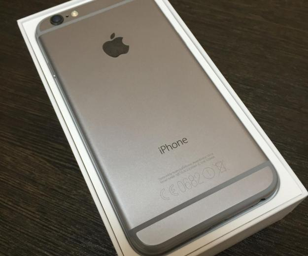 Apple iphone 6 64gb space gray. Фото 1. Саратов.