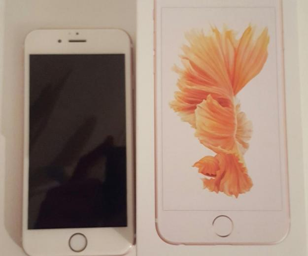 Iphone 6s 16gb rose gold. Фото 1.