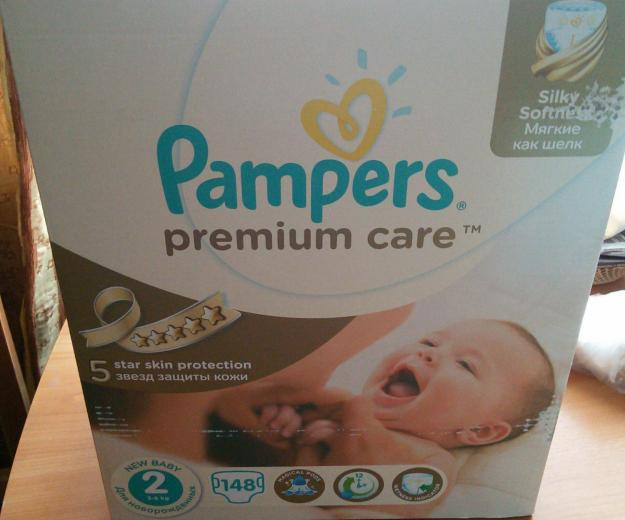 Pampers premium care. Фото 1. Челябинск.