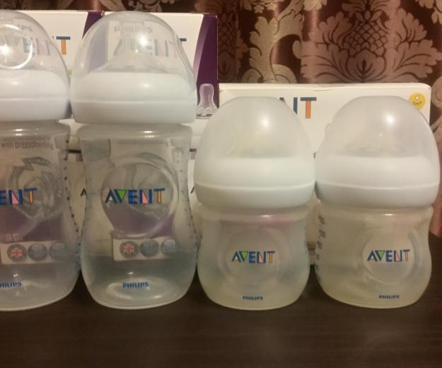 Бутылочки avent philips natural. Фото 1. Белгород.