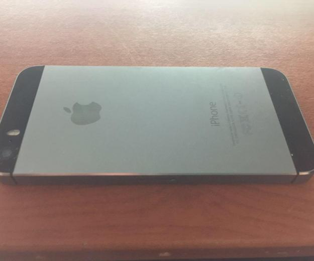 Iphone 5s space gray 32 gb. Фото 2. Якутск.