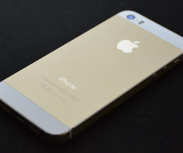 Iphone 5s 32g gold. Фото 1.