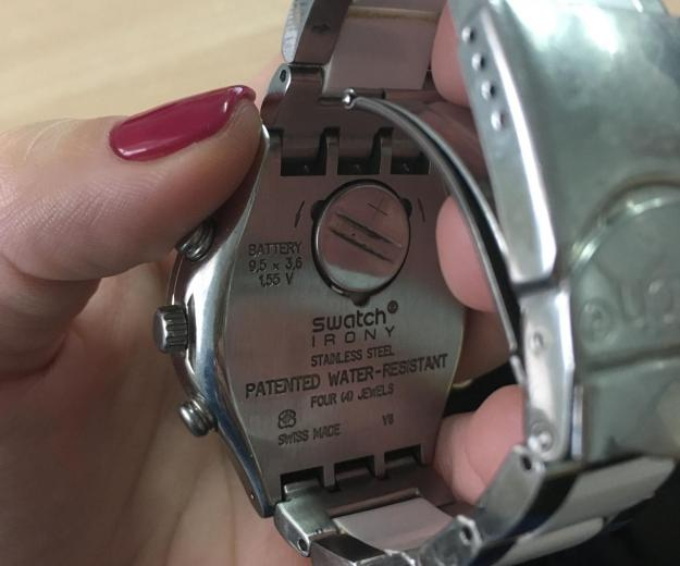 Swatch irony stainless steel. Фото 3.