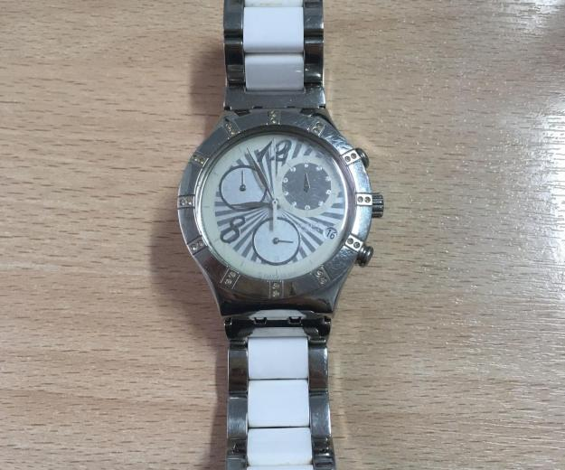 Swatch irony stainless steel. Фото 1.