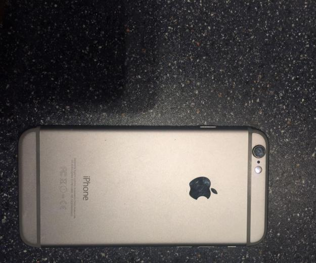 Iphone 6 space gray. Фото 3.