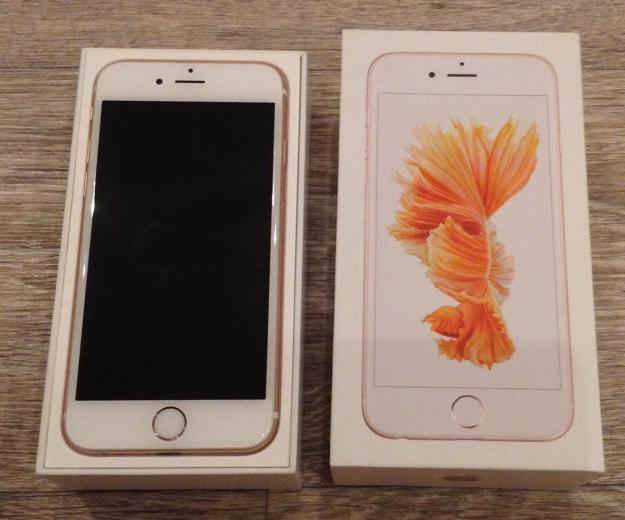 Iphone 6s 64 gb rose gold. Фото 1.