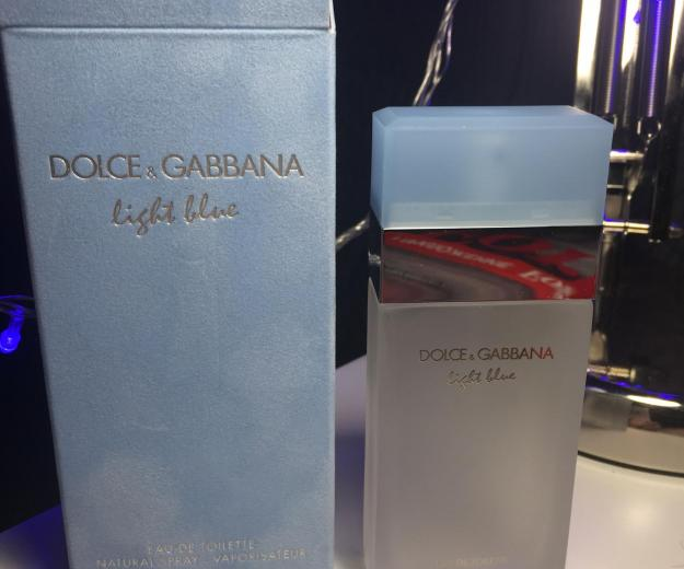 Женские dolce and gabbana light blue 50ml. Фото 1. Москва.
