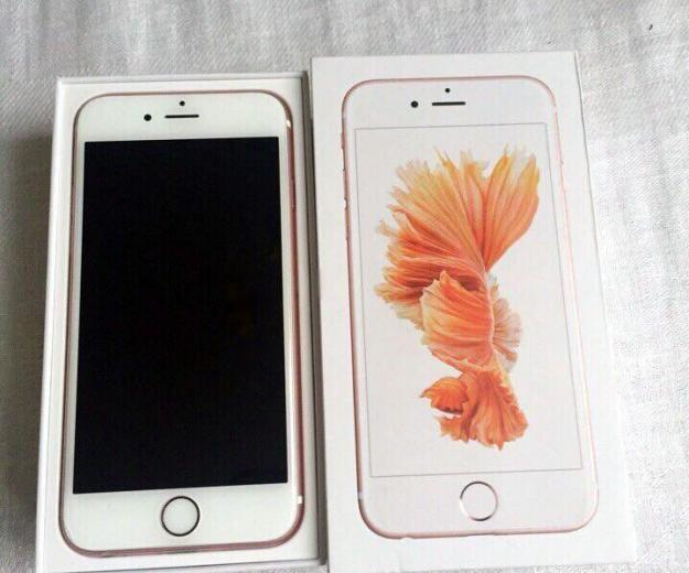 Iphone 6s rose gold 64gb. Фото 2.