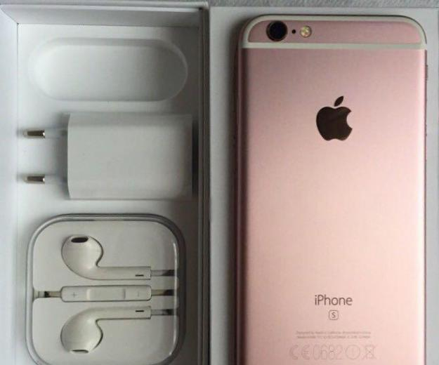 Iphone 6s rose gold 64gb. Фото 3.
