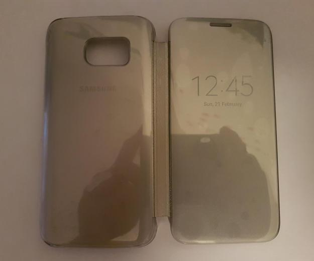 Samsung galaxy s7 флип-книжка clear view cover. Фото 2. Челябинск.