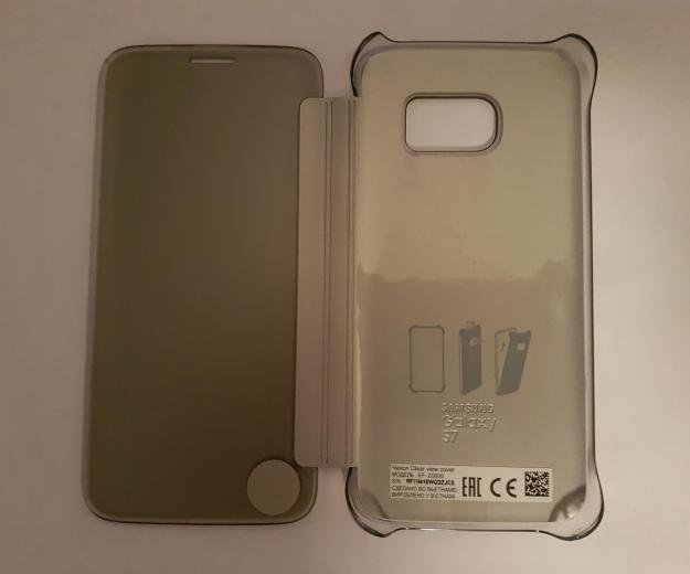 Samsung galaxy s7 флип-книжка clear view cover. Фото 3. Челябинск.