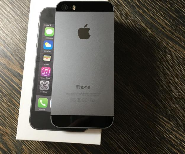 Iphone 5s, space gray, 16gb. Фото 2. Саратов.