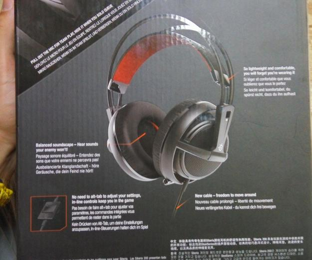 Наушники steelseries siberia 200. Фото 3. Якутск.