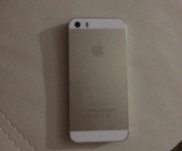 Apple iphone 5s 16gb gold. Фото 1. Липецк.