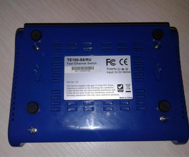 Ethernet switch trendnet te100-s8. Фото 2. Клинцы.