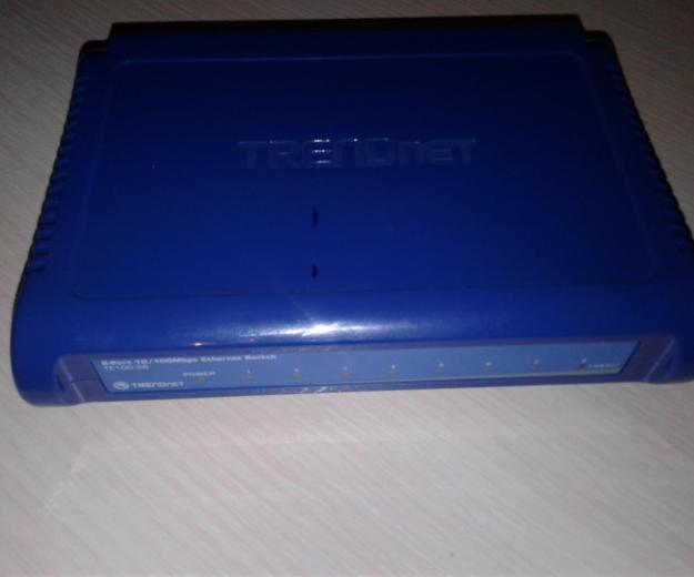 Ethernet switch trendnet te100-s8. Фото 3. Клинцы.
