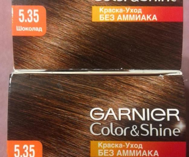 Краска для волос garnier color&shine 5.35 (2 шт.). Фото 4. Воткинск.