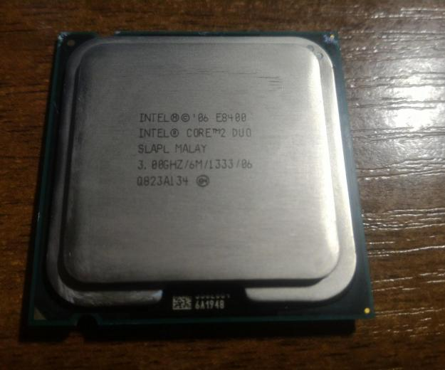 Intel core 2 duo e8400. Фото 2. Санкт-Петербург.