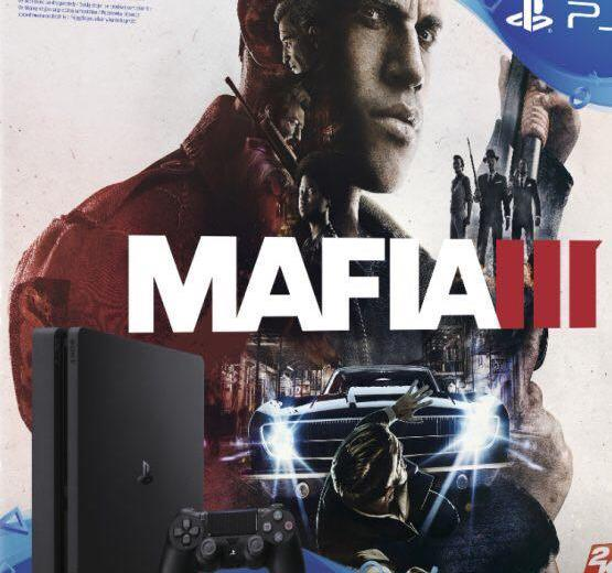 Playstation 4 slim+mafia 3. Фото 1. Санкт-Петербург.