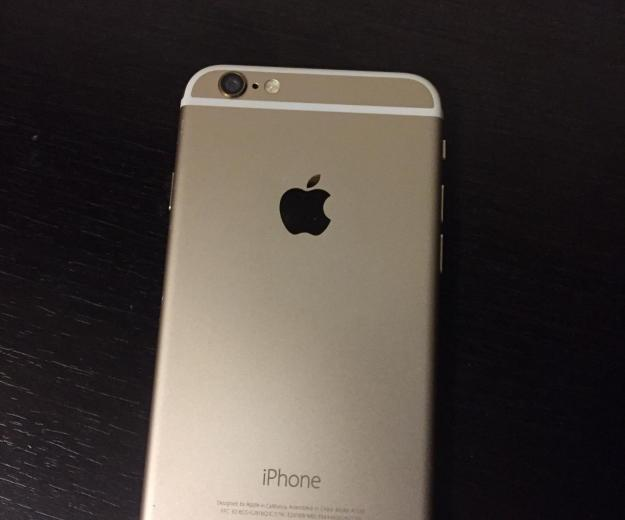 Iphone 6 gold 16gb. Фото 3. Москва.